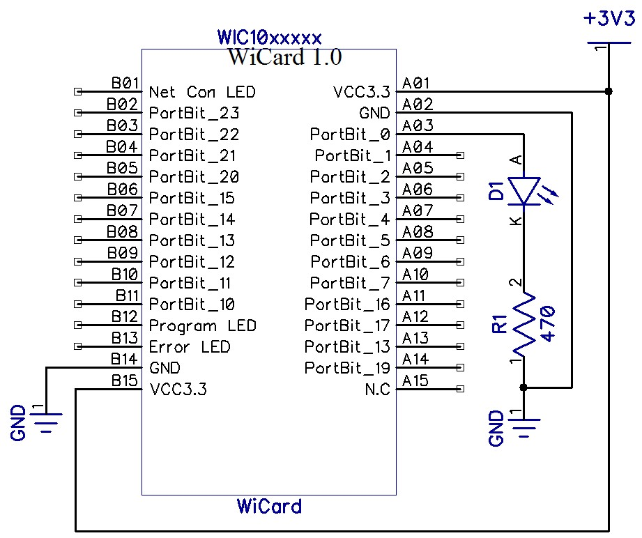 WiFi controller module - wicard