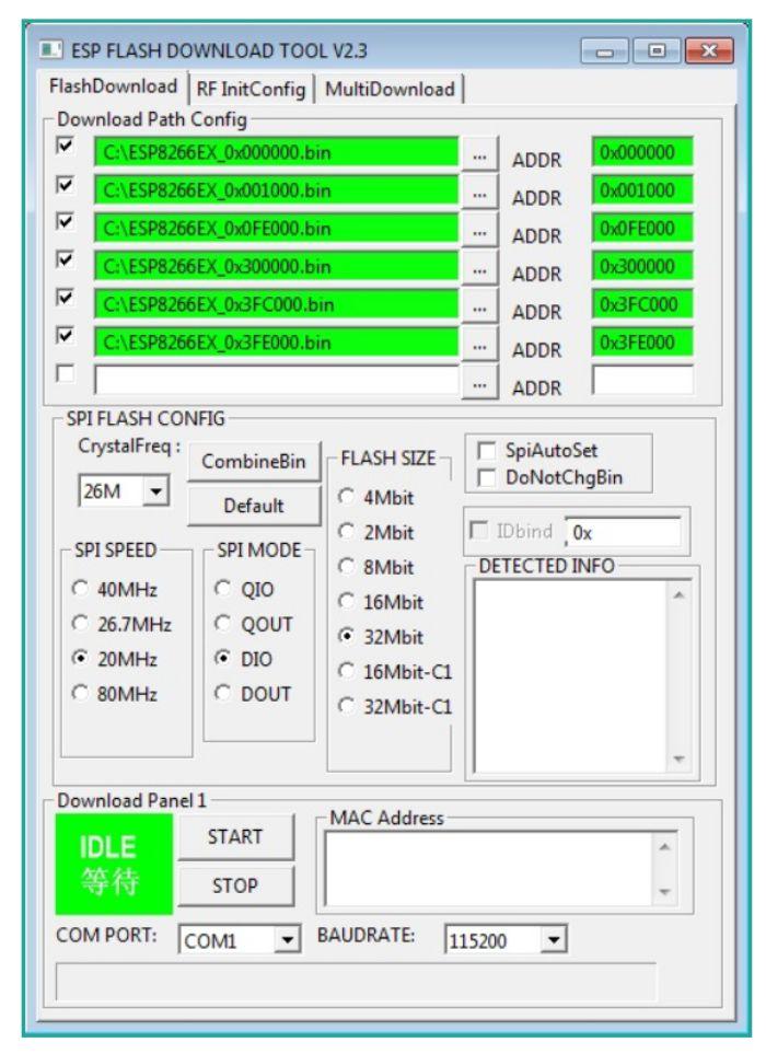 esp flash tool