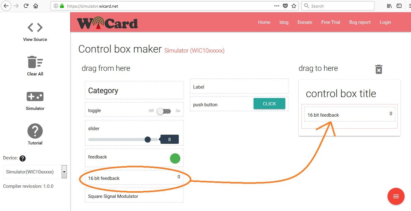 wicard adc simulator 1