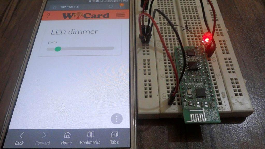 wicard pwm slider