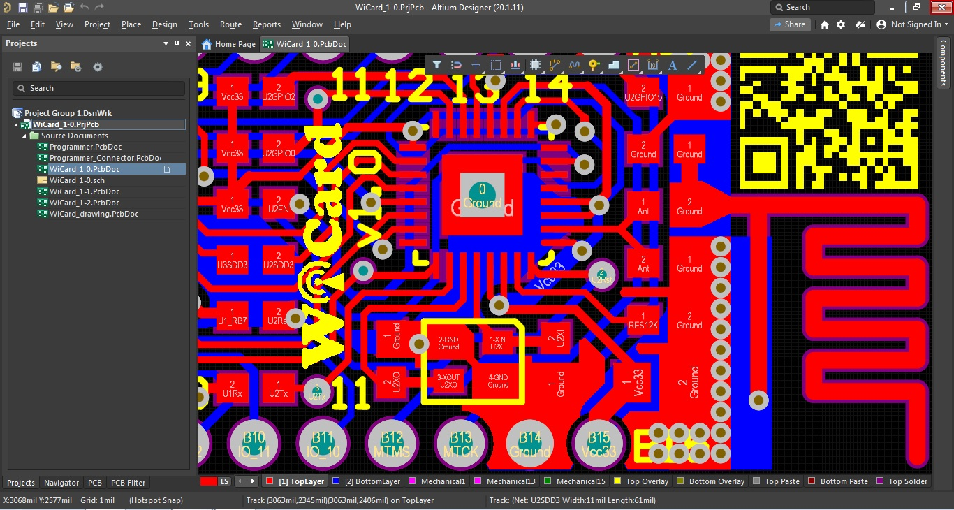 electronics programming project