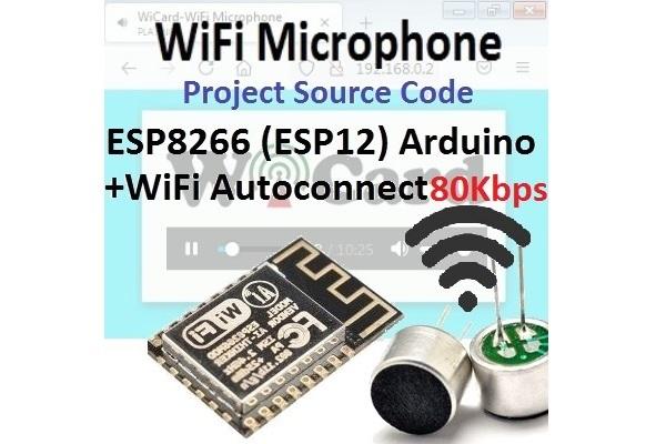 wifi esp8266 microphone arduino